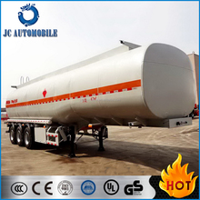 2016 Popular 3 Axles 4 Compartments Carbon Steel Oil Tank semi trailer for sale/ Fuel tanker
