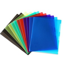 Students classified stationery products a4 size plastic l type file folder