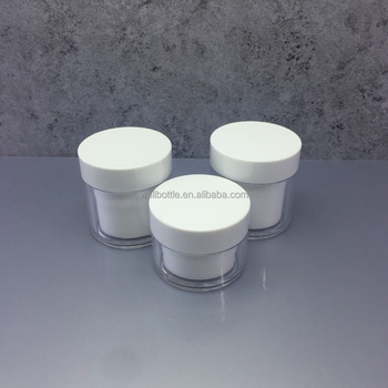100ml pet cosmetic plastic jar with lid PJ-43Z
