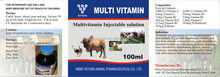 multivitamin injection for animal use only