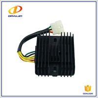 Motorcycle Voltage Regulator Rectifier 12v For Honda Prince/Good Quality Scooter Three Phase Controlled Rectifier