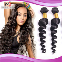 "20"" 22"" 22"" 3 Pcs Malaysian weft and wavy hair weaves Shipping Free No Tangled"