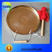 Tuopu supplier marine antique chinese gong with handmade copper gong
