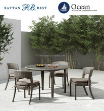 china factory rattan outdoor table and chairs