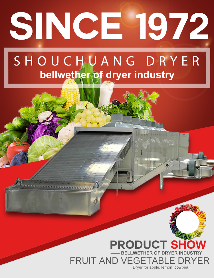 Hot air drying machine industrial stainless steel fruit dryer