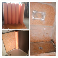 PE PP waterproof membrane for bathroom floors