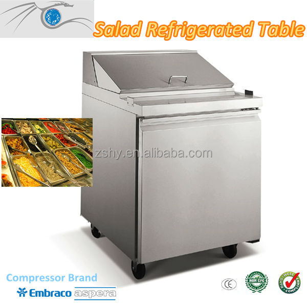 Stainless Steel Refrigerated Salad Cabinet