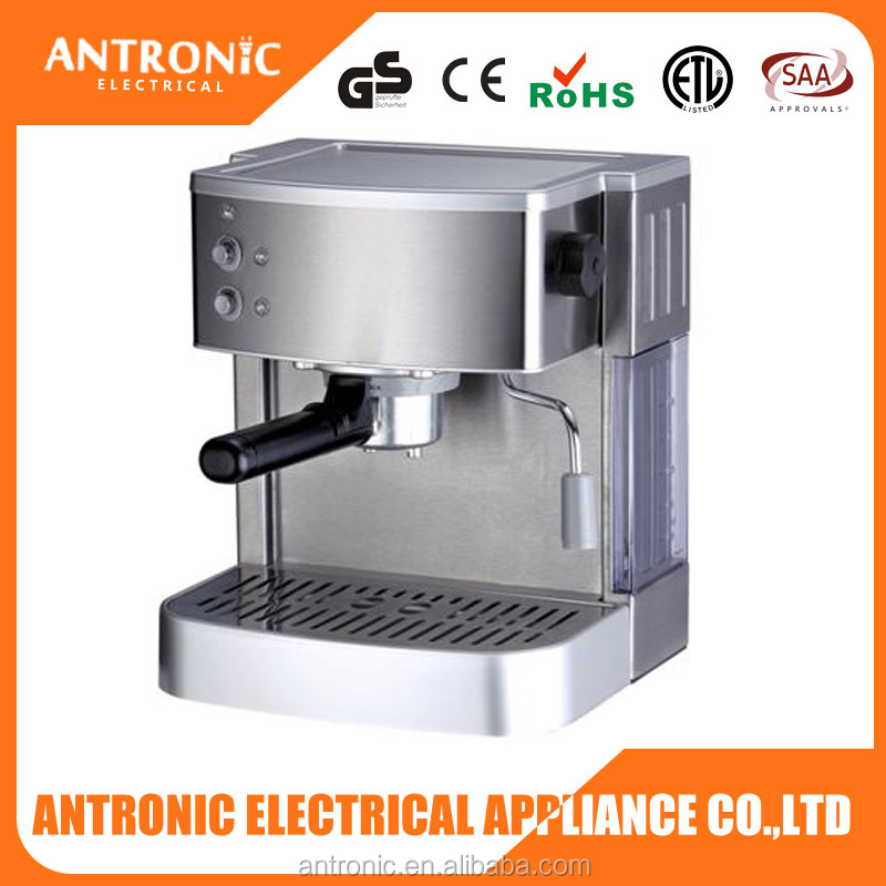 Top grade Antronic ATC-CM01 stainless steel coffee maker multi function 15 bar aluminum coffee maker