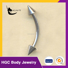 China stainless jewelry eyebrow piercing designs jewelry