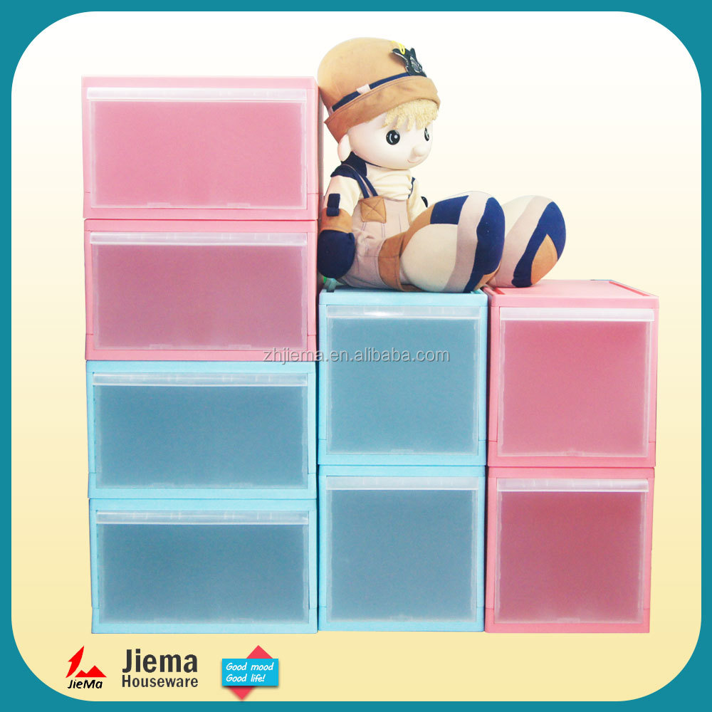 New design DIY plastic baby plastic drawer