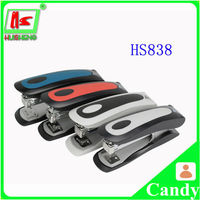 Hot mini office 2 hole punch & stapler 2 in 1