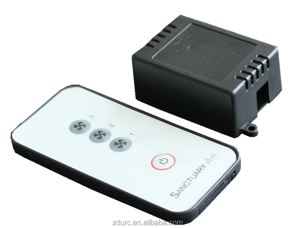 Wireless IR automatic Remote Controller for fan and the receiver