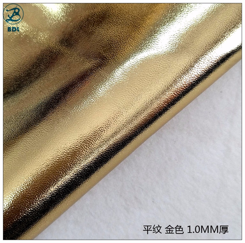Hot Sale Colorful DIY PU <strong>Leather</strong> Wholesale, Free Custom PU Synthetic Rexine <strong>Leather</strong>, Gold- Sliver types