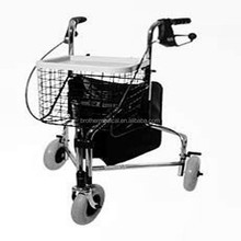 Aluminum Mobility Walker Rollator Foldable Walking Aid Physical Therapy Walker Rollator zy