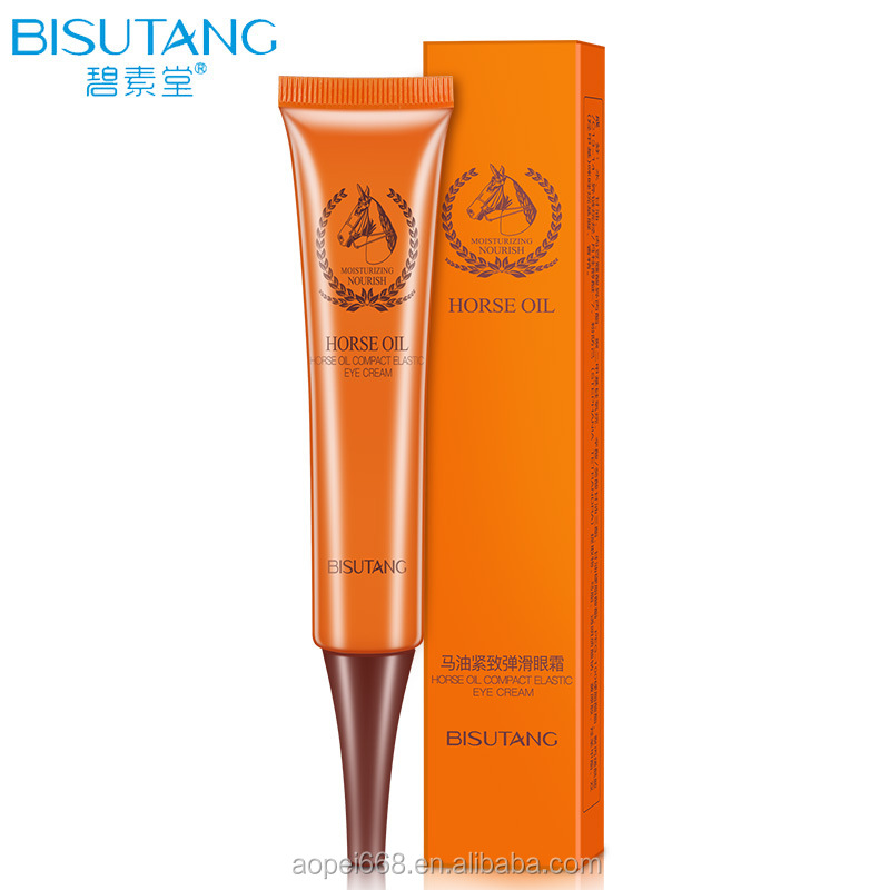 OEM firming horse oil cream lightening wrinkle cream for eyes