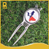 Bulk golf divot repair tools or gof pitchforks with Texas golf ball markers
