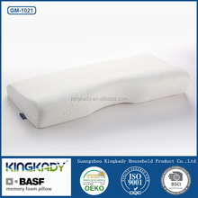 Cheap wholesale pvc synthetic leather for sofa upholstery bedding set decorative health care memory foam pillow