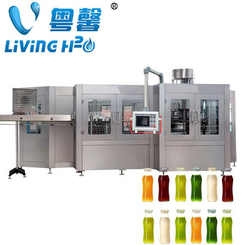 Automatic New 3 in 1 Bottled soda beverage water filling machine
