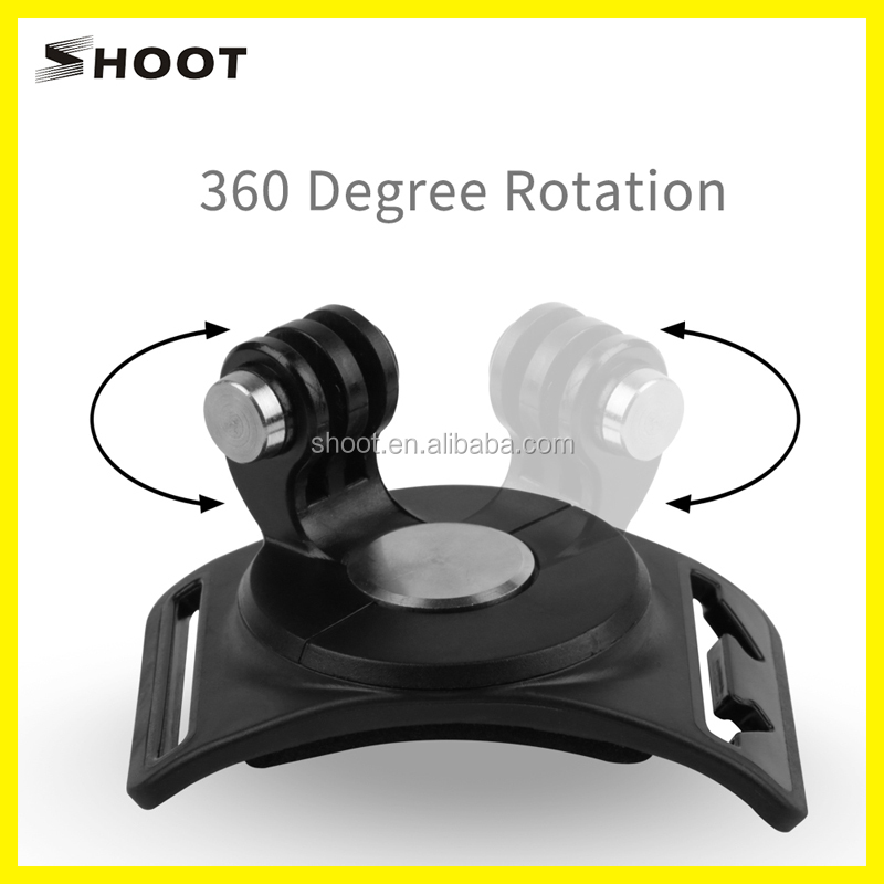 360-degree Rotation Hand Wrist Arm Leg Mount Set with Straps for GoPro Hero 5 3+ 3 4 SESSION Cam
