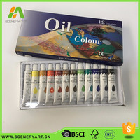 Non-toxic oil paint raw materials