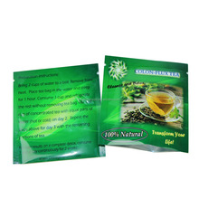 private label printed foil small heat seal empty tea bag