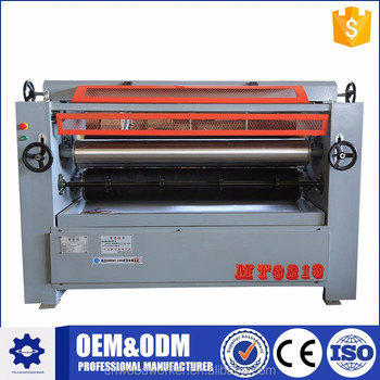 double side gluing machine with Solid wood furniture