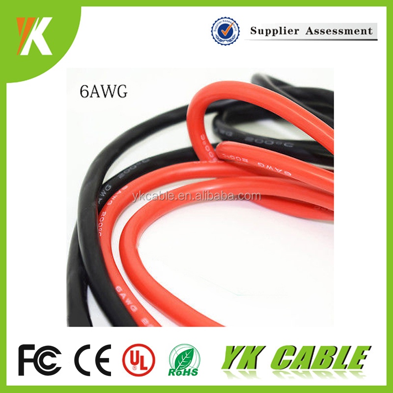 Awm silicone cable heat resistant insulation for electrical wire