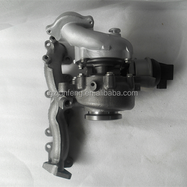 Auto Engine parts BV43 Turbo for Volkswagen Tiguan 2.0L TDI Engine CBAA, CBAB 53039880132 53039700139 53039880205 Turbo charger