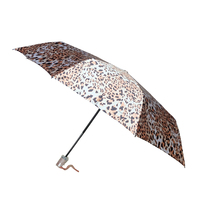 clear dome 3 folding classic umbrella for lady