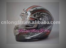 Caron fiber helmet for motorcycle