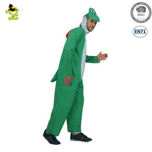 Yoshi walking Dinosaur Mascot party pajamas costume for Halloween party