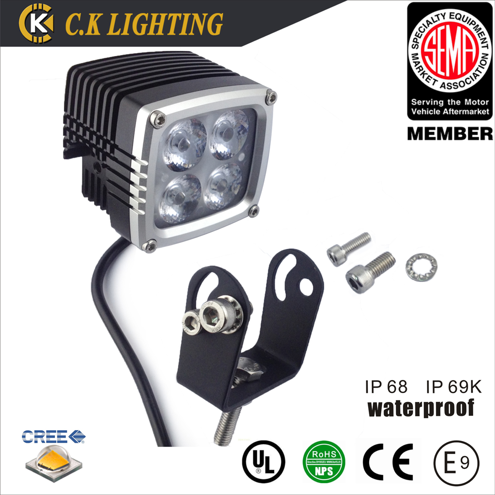 Super bright auto tractor dc 12 v 40 w led verlichting met for Tractor verlichting