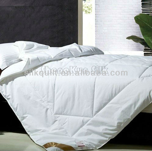 2014 Washable Long Mulberry Silk Comforter/Duvet with Quilting
