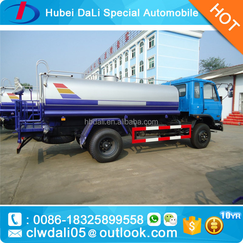 Dongfeng 10 Cubic Meter Water Truck with Pump for sale