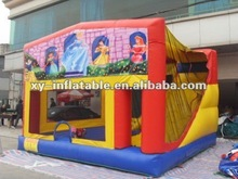 Good quality inflatable princess castle, bouncy castle banners