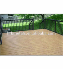 gazeb terrace swimming pool profiles Aluminum decking designed for villas stairs