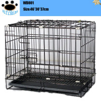 2016 folding large crates breeding pet dog wire cages