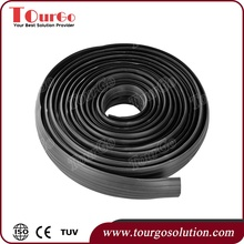 "TourGo Rubber Wire Protector Floor Cable Cover for 0.25"" diameter cord"
