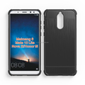 brushed metal alpha design air cushion shock proof tpu phone case for Huawei Nova 2i Honor 9i Mate 10 lite