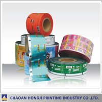 Plastic PET/BOPP/PA/PE laminated Printing Flexible Packaging Film