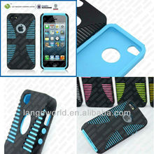 2013 silicone fingerprint pattern case for iphone 5