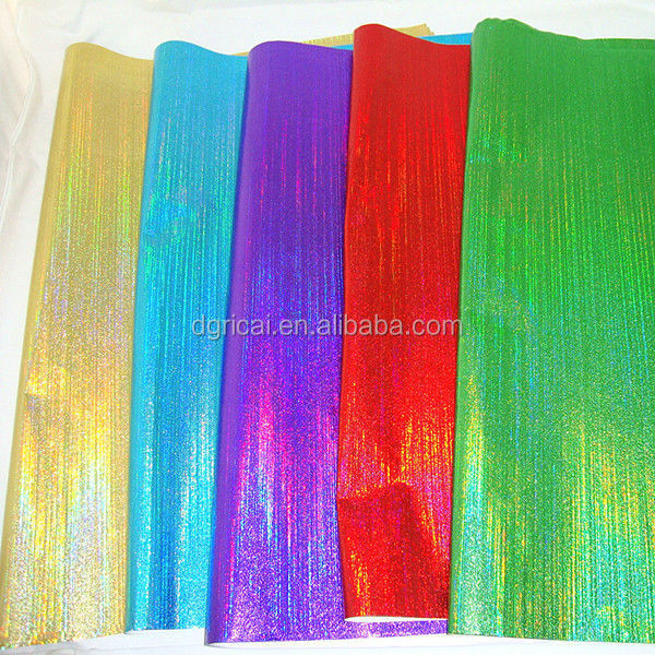 New Elegant Various Plain Colour Laser Gift Wrapping Paper