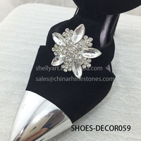 Hot Sales Silver Decorative Shoes Clips