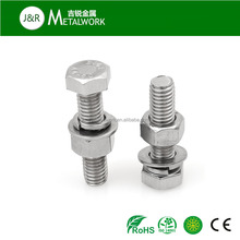 SS304 SS316 Stainless steel Hex Head Bolt and Nut