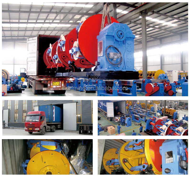 Rigid/Tubular/Planetary/Bow type Cable stranding machine