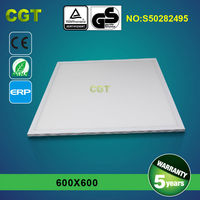 No flash surface mounted panel Led ceiling light 600x600 CE RoHS GS TUV certificated