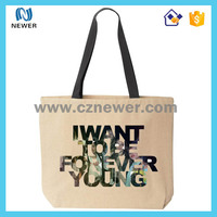 Best resuable cheap price foldable cotton tote shopping bag