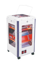 5 faces Infrared Quartz square Heater with wheel 2000W