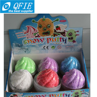 Wholesale interesting 8cm DIY educational clay snow putty toys