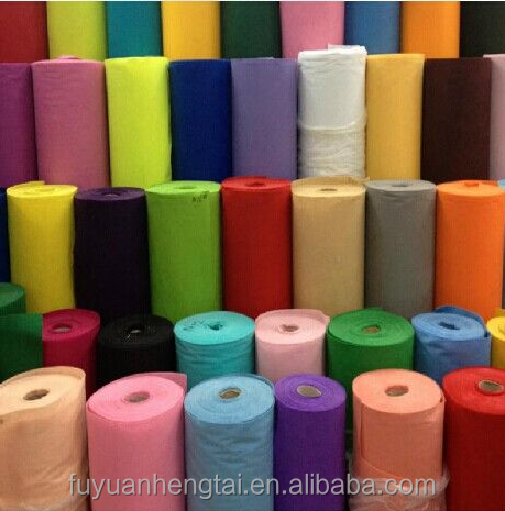 China wholesale colorful needle punched nonwoven felt in roll